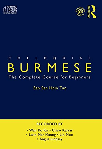 9780415517294: Colloquial Burmese: The Complete Course for Beginners
