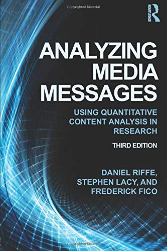 9780415517676: Analyzing Media Messages: Using Quantitative Content Analysis in Research (Routledge Communication)