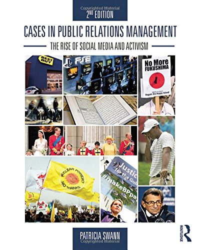 9780415517706: Cases in Public Relations Management: The Rise of Social Media and Activism