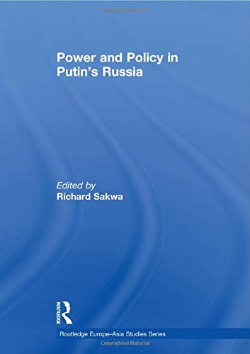 9780415518680: Power and Policy in Putin's Russia (Routledge Europe-asia Studies)