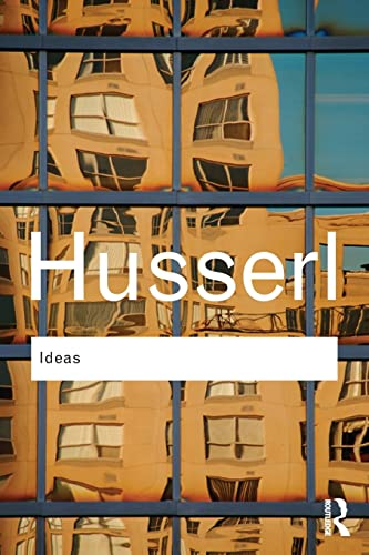 Ideas: General Introduction to Pure Phenomenology (Routledge: Husserl, Edmund