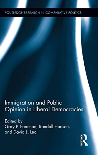 9780415519083: Immigration and Public Opinion in Liberal Democracies (Routledge Research in Comparative Politics)
