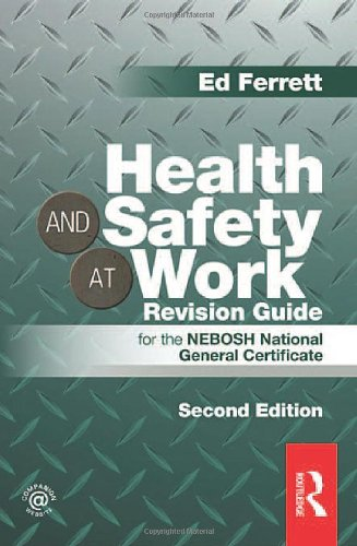9780415519793: Health and Safety at Work Revision Guide: for the NEBOSH National General Certificate