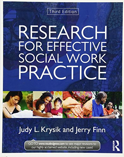 Research for Effective Social Work Practice (New: Krysik, Judy L.,