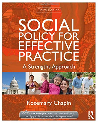 9780415519915: Social Policy for Effective Practice: A Strengths Approach (New Directions in Social Work)