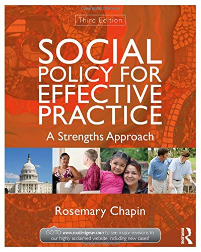 9780415519922: Social Policy for Effective Practice: A Strengths Approach (New Directions in Social Work)