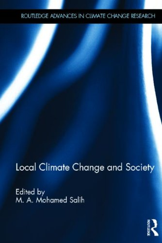 9780415520379: Local Climate Change and Society (Routledge Advances in Climate Change Research)