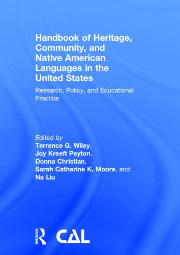 9780415520669: Handbook of Heritage, Community, and Native American Languages in the United States: Research, Policy, and Educational Practice