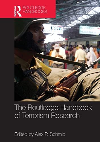 9780415520997: The Routledge Handbook of Terrorism Research (Routledge Handbooks)