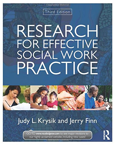 9780415521000: Research for Effective Social Work Practice (New Directions in Social Work)