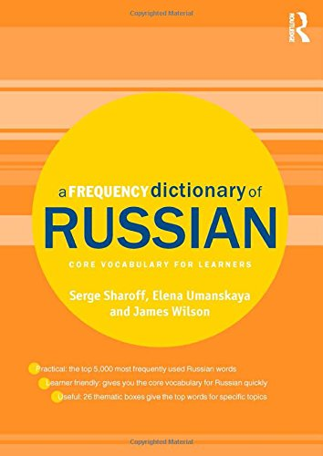 9780415521413: A Frequency Dictionary of Russian: core vocabulary for learners