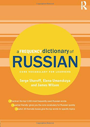 9780415521420: A Frequency Dictionary of Russian: core vocabulary for learners