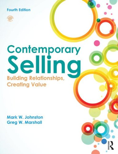 9780415523509: Contemporary Selling: Building Relationships, Creating Value - 4th edition