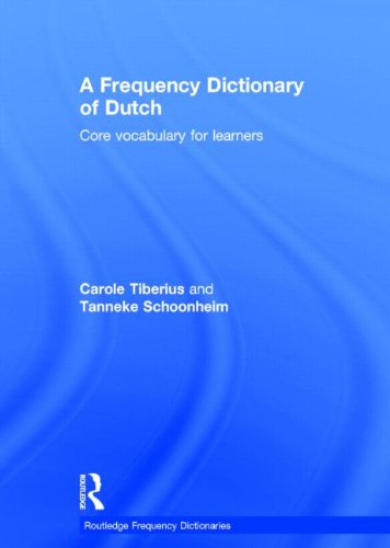 9780415523790: A Frequency Dictionary of Dutch: Core Vocabulary for Learners (Routledge Frequency Dictionaries)