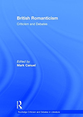 9780415523813: British Romanticism: Criticism and Debates