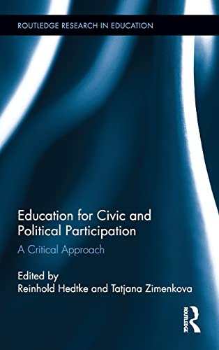9780415524193: Education for Civic and Political Participation: A Critical Approach (Routledge Research in Education)