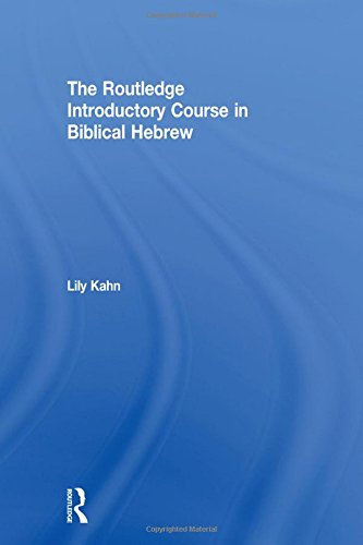 9780415524797: The Routledge Introductory Course in Biblical Hebrew