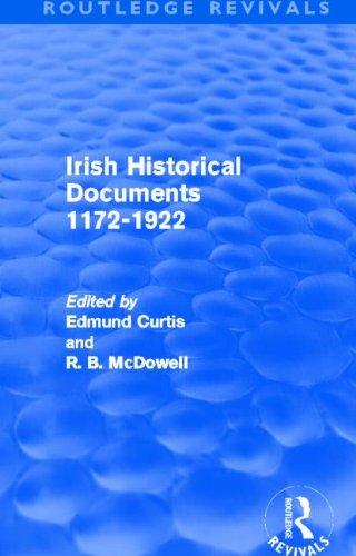 9780415525947: Irish Historical Documents, 1172-1972 (Routledge Revivals)