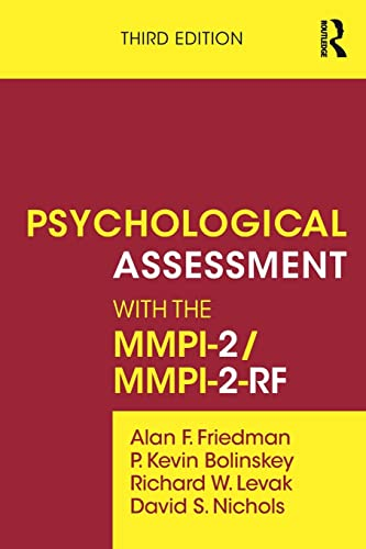 9780415526333: Psychological Assessment with the MMPI-2 / MMPI-2-RF