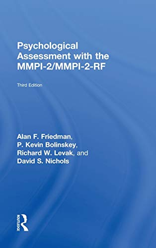 9780415526340: Psychological Assessment with the MMPI-2 / MMPI-2-RF