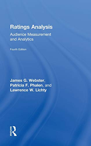 9780415526517: Ratings Analysis: Audience Measurement and Analytics (Routledge Communication Series)