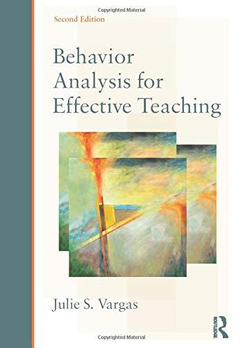9780415526807: Behavior Analysis for Effective Teaching