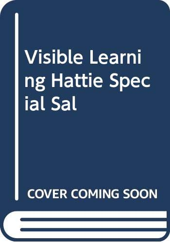 9780415528443: Visible Learning: Book A Synthesis of Over 800 Metaanalyses Relating to Achievement