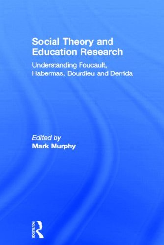 9780415530132: Social Theory and Education Research: Understanding Foucault, Habermas,Bourdieu and Derrida
