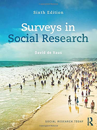 9780415530156: Surveys In Social Research (Social Research Today)