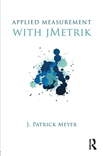 9780415531979: Applied Measurement with jMetrik