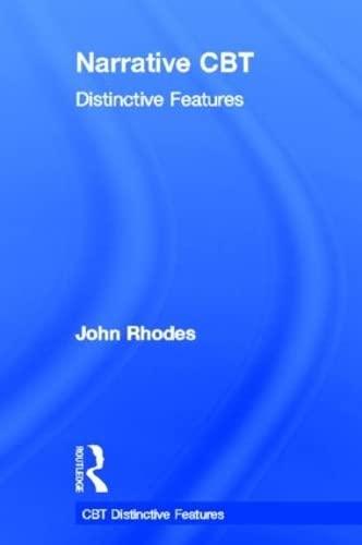 9780415533966: Narrative CBT: Distinctive Features