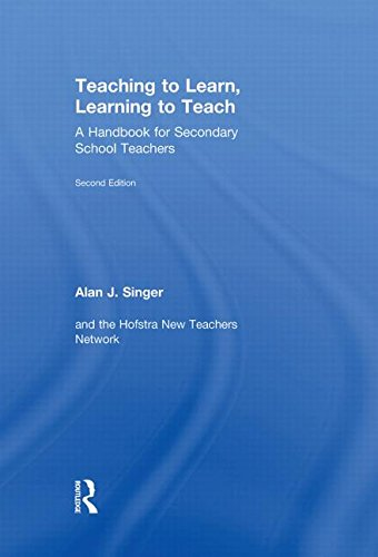 9780415534598: Teaching to Learn, Learning to Teach: A Handbook for Secondary School Teachers