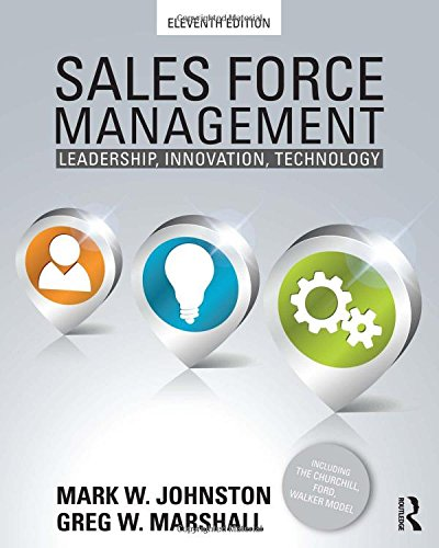 9780415534611: Sales Force Management: Leadership, Innovation, Technology - 11th edition