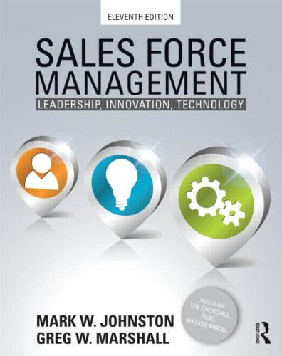 9780415534628: Sales Force Management: Leadership, Innovation, Technology - 11th edition