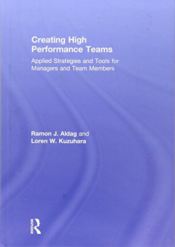 9780415534918: Creating High Performance Teams: Applied Strategies and Tools for Managers and Team Members