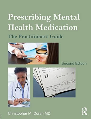 9780415536097: Prescribing Mental Health Medication: The Practitioner's Guide