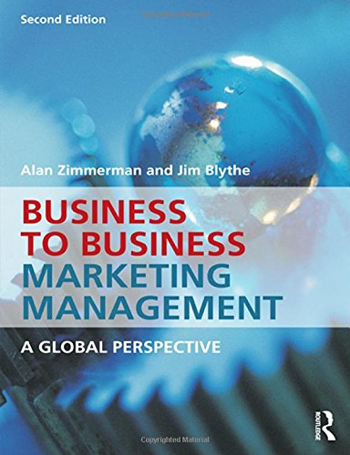 9780415537025: Business to Business Marketing Management: A Global Perspective