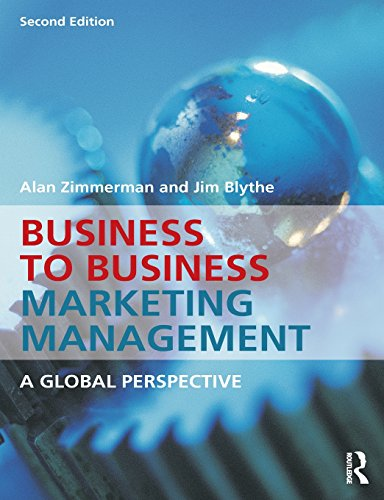 9780415537032: Business to Business Marketing Management: A Global Perspective