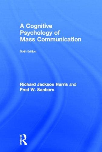9780415537049: A Cognitive Psychology of Mass Communication (Routledge Communication)