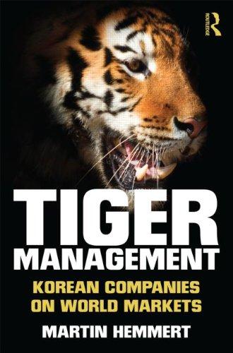 9780415537209: Tiger Management: Korean Companies on World Markets