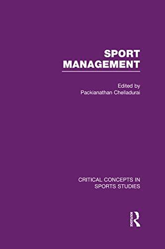 9780415537681: Sport Management (Critical Concepts in Sports Studies)