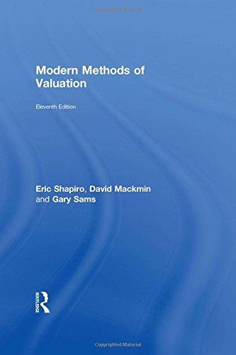 9780415538015: Modern Methods of Valuation