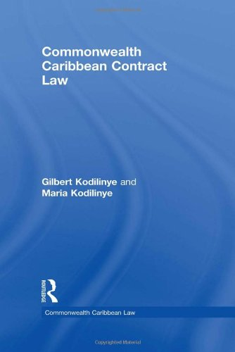 9780415538718: Commonwealth Caribbean Contract Law (Commonwealth Caribbean Law)