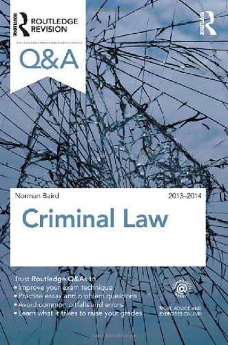 9780415538879: Q&A Criminal Law 2013-2014 (Questions and Answers)
