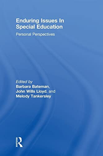 9780415539173: Enduring Issues In Special Education: Personal Perspectives