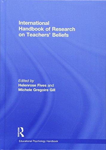 International Handbook of Research on Teachers? Beliefs: Fives, Helenrose