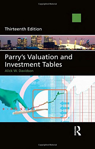 9780415540476: Parry's Valuation and Investment Tables: Centenary edition