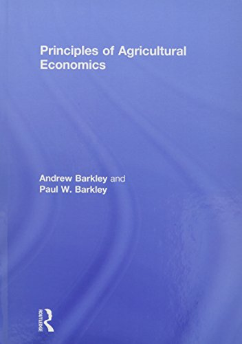 9780415540698: Principles of Agricultural Economics (Routledge Textbooks in Environmental and Agricultural Economics)