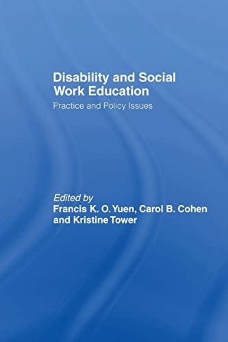 9780415542692: Disability and Social Work Education: Practice and Policy Issues