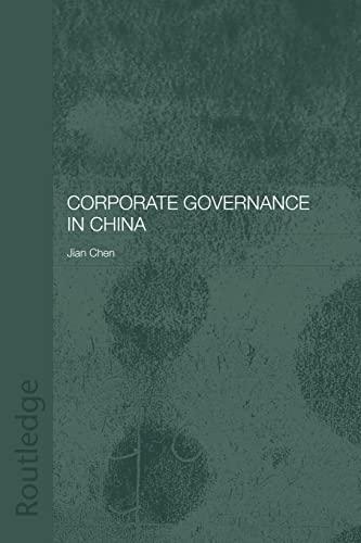 Corporate Governance in China: Jian Chen